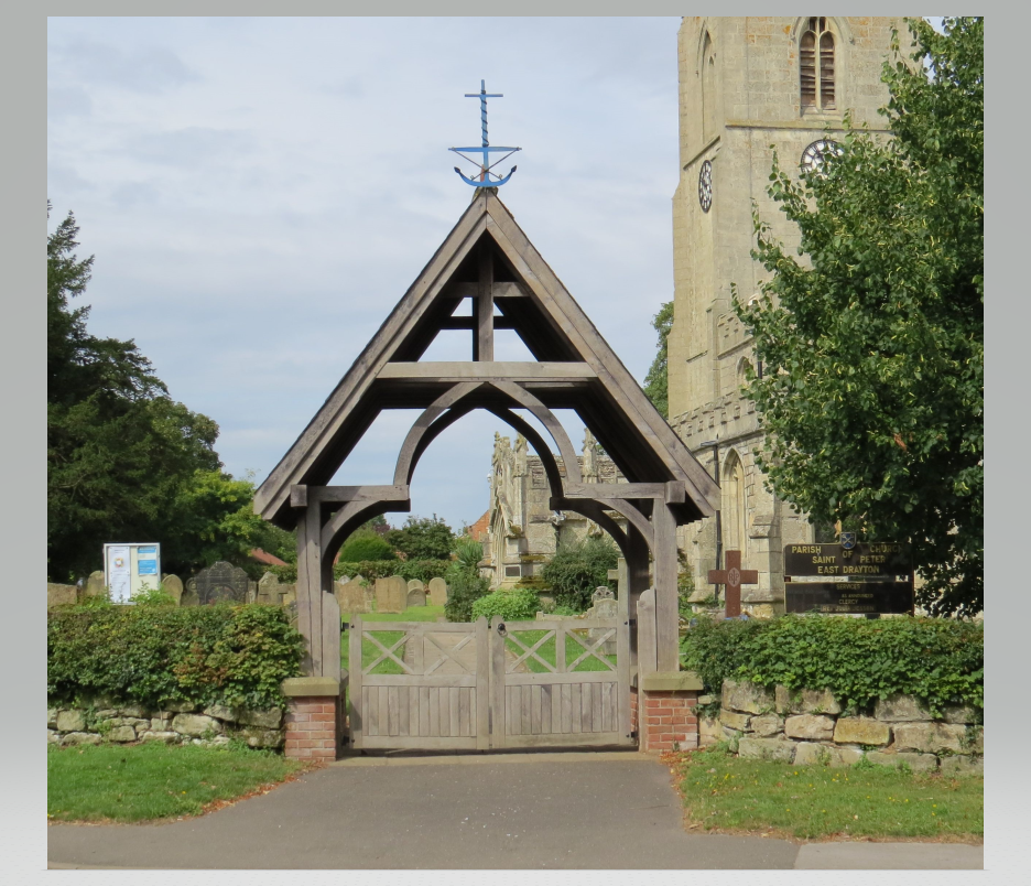 Lych Gate at St. Peter's Church